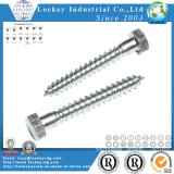 Stainless Steel Screw Hex Head Wood Screw Lag Screw Coach Screw