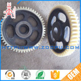 Machining Toothed Gear Part POM Plastic Coupling Cog-Wheel for Power Transmission