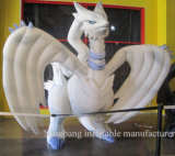Custom Make White Giant Inflatable Cartoon Character