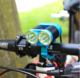 2 * CREE T6 1500lumens Reflector Bicycle Lamp High Power Bicycle Light