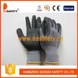 Ddsafety 2017 Nitrile Foam Gloves Dots on Palm