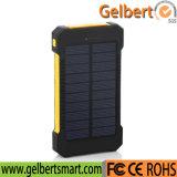 Flashligh Ipx6 Waterproof 10000mAh Emergency Solar Power Bank