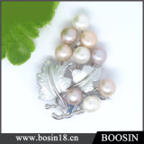 Unique Design High Quality Grape Pearl Beads Brooch #51197