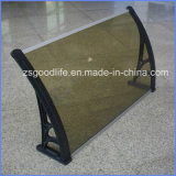 Raw Material 10years Warranty Polycarboante Solid Sheet Polycarbonate Awning
