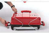 European Smokeless Multi-Function Charcoal BBQ Grill for Camping