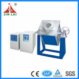 Tilting Medium Frequency Induction Furnace for Melting Platinum (JLZ-25)