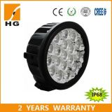 Ce Approved IP68 6′′ 90W CREE Chip Round Red LED Work Light for Car