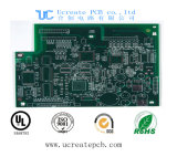 Multilayer High Tg 3.2mm Impedance Control Selective Hard Gold Circuit Board