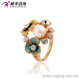 Fashion Gold-Plated Charming Unique Valentines′ Ring