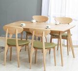 Solid Wooden Dining Table Living Room Furniture (M-X2884)