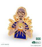 Custom Name Badge and Metal Gold Lapel Pin (XD-B11)