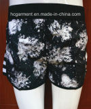 Floral Print Sport Surf Short Swimwear Beachwear for Women/Lady