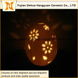 Egg with Flower Hollow out Candle Containers Wholesale