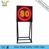 New Design Speed Limit Aluminum Road Safety LED Road Sign