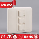 Module Type 2*4 Inch 3 Gang Power Supply Switch