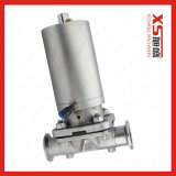 SS316L Diaphragm Valve with Stainless Steel Single Function Pneumatic Actuator