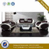 Modern Office Furniture Genuine Leather Couch Office Sofa (HX-SN045)