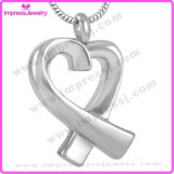 Bow Tie Cremation Urn Pendant Necklace for Ashes Keepsake Hold (IJD8938)