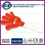 Customized Logo Plastic Hand Clapper for Soccer Ball Match