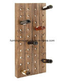 Classical Wooden Wine Rack Widespread Storage Rack 40 Bottle