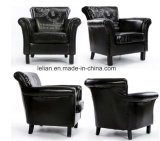 Modern Design Sofa Furniture Leather Single Sofa Chair (LL-BC081)