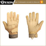 Tactical Military Half-Finger Airsoft Hunting Riding Cycling Gloves Tan Color