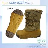 Non-Slip Lace-up Men EVA Winter Boot Snow Boot with Fur