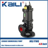 4′ JYWQ Auto-stirring Sewage Submersible Pump with high efficiency
