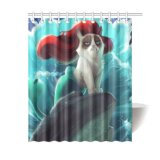 Customs Cats Painting Shower Curtain