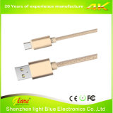 1m Alloy Metal Micro USB Cable 2.0 Data Sync Charger Cable