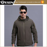 Esdy Tactical Waterproof Windproof Softshell Fleece Combat Military Hoodie Jackets
