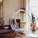 Acrylic Swing Hanging Bubble Chair for Living Room