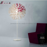 Modern Fashion Resin Spray White Paint Floor Lamp for Bedroom