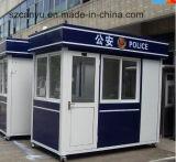 Police Security Booth Kiosk, Kiosk Booth, Prefabricated Building
