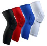 OEM Basketball Elastic Knee Support Knee Pad with Honeycomb Design