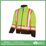 High Visibility 5-in-1 Yellow & Orange Reflective Jacket