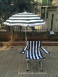 Outdoor Folding Beach Chair Camping Chair with Umbrella