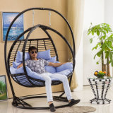 2017 New Double Swing Swing, Rattan Furniture Garden Furniture (D156)