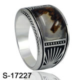 Factory Hotsale 925 Silver Turkish Jewelry Ring for Man