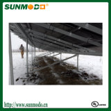 Durable Flat Roof Anodized Aluminum Solar Rack