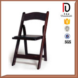 Event Party Rental Black White Wood Folding Tiffany Chair for Sale (BR-P098)