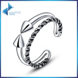 Vintage Double Open Silver Ring for Women Men Jewelry 925 Sterling Silver Rings