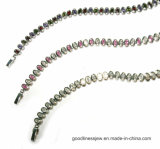 Color Gemstone 925 Sliver Bracelet (BT6662)