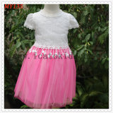 Causal and Formal Lace Young Girls Dress for Children Clothing