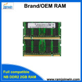 Work with Motherboards 128MB*8 Laptop DDR2 2GB RAM Memory