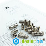 Brass Fittings Pneumatic Push in Fittings with PT NPT BSPP