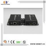 Rail Mount Type IR Transmitter+IR Receiver+HDMI Kvm Extender