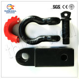 Heavy Solid Shank Shackle D-Ring Recovery Hitch Receiver
