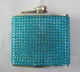 Amazon Vendor Stainless Steel 6oz Hip Flask with Cover