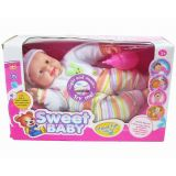 "14"" Soft Boy Baby Doll with IC"